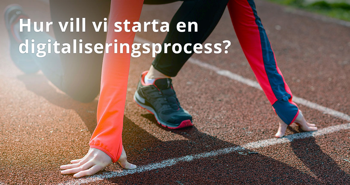 ACTE CORE - starta en digitaliseringsprocess